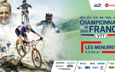 Championnats de France VTT – Les Menuires